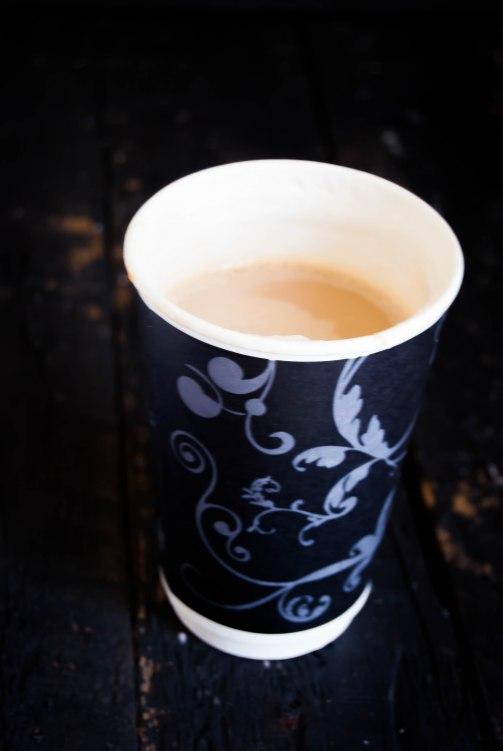 Cafe Black caramel latte